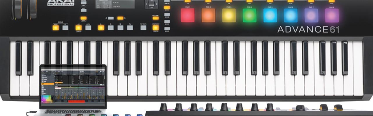 Akai Professional   USB MIDI MPC APC Ableton Live Controller DAW Keyboard Interface